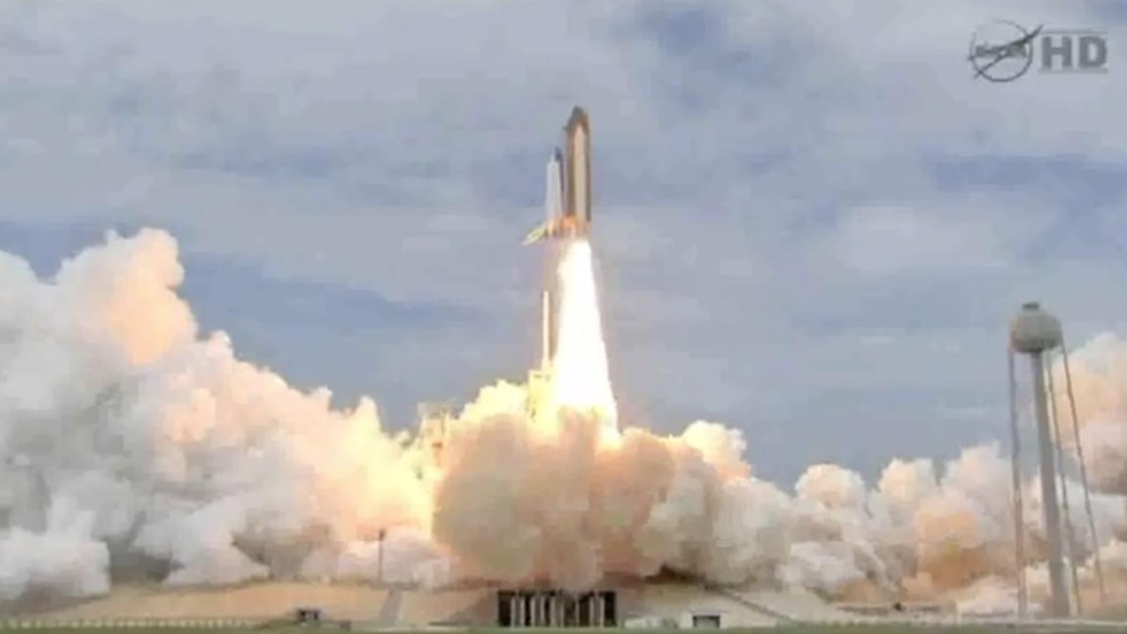L'enlairament de l'Atlantis, l'últim viatge d'un transbordador de la NASA