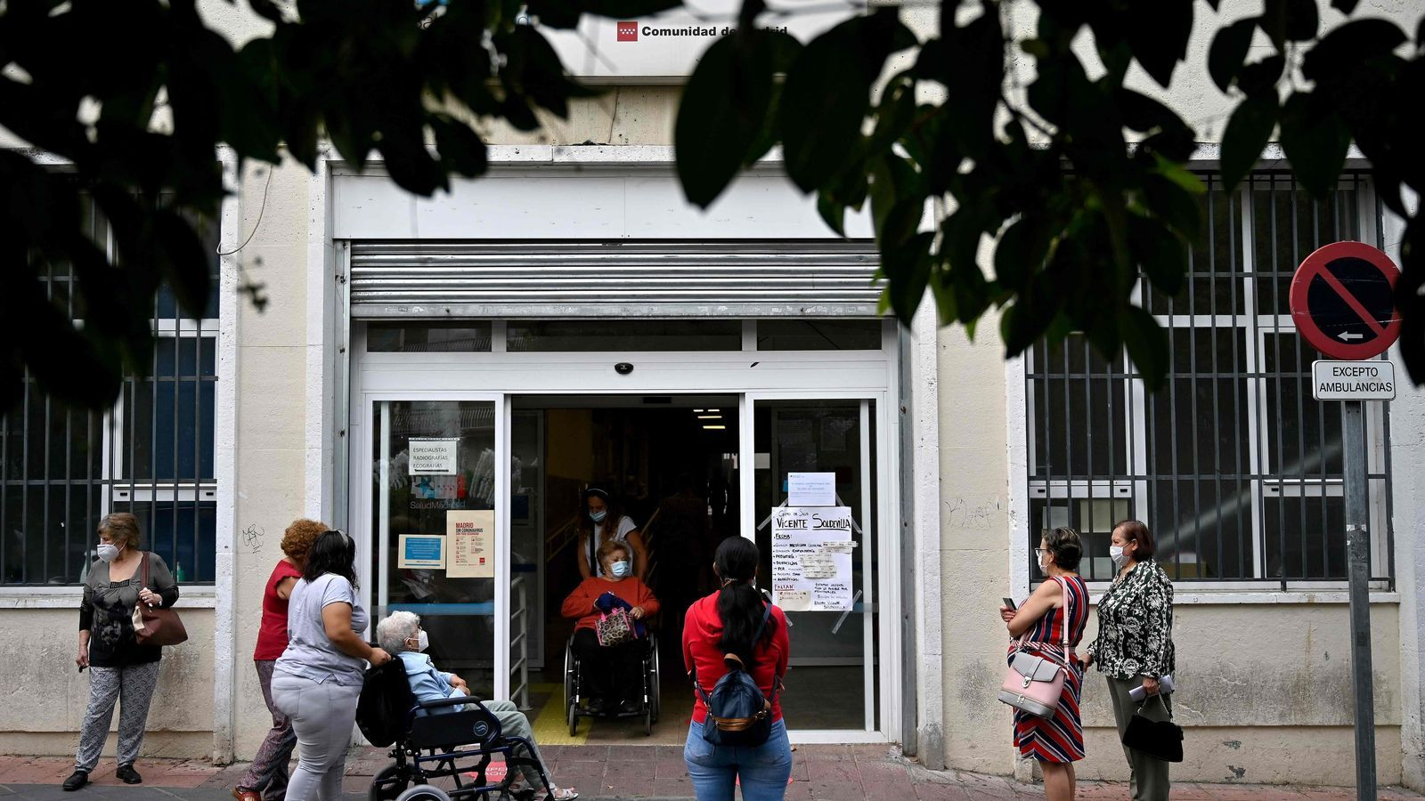 Madrid demana auxili a l'Estat per controlar la pandèmia