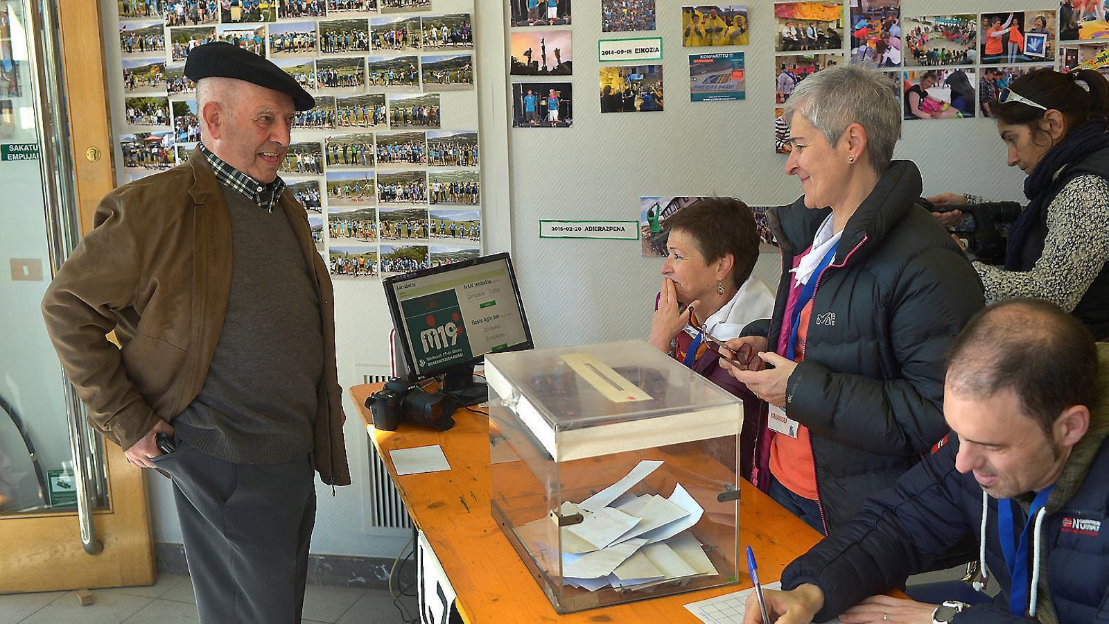 Baixa participació a les consultes sobre la independència a Euskadi