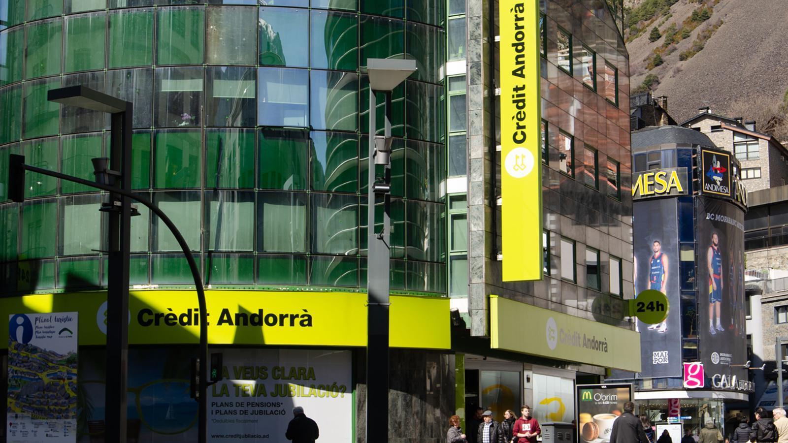 Seu central de Crèdit Andorrà / D. R. (ANA)