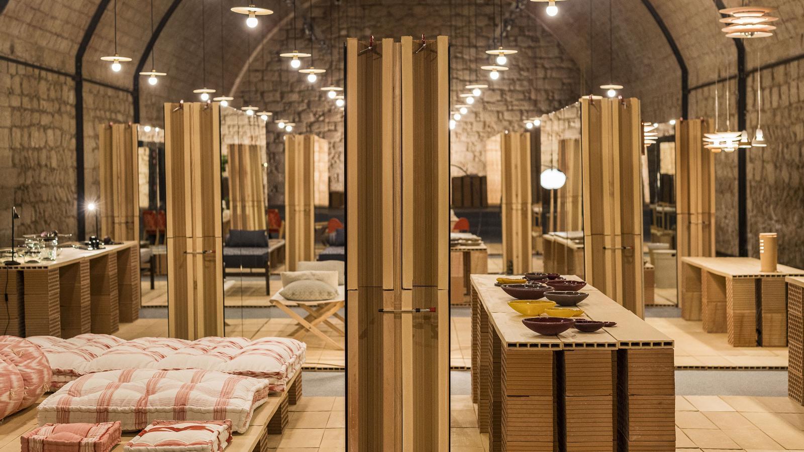 La instal·lació del Made in Mallorca torna a l'Aljub d'Es Baluard Museu