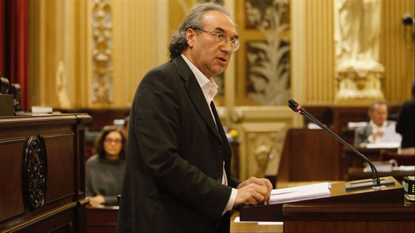 El conseller d'Educació, Martí March, aquest dimarts al Parlament