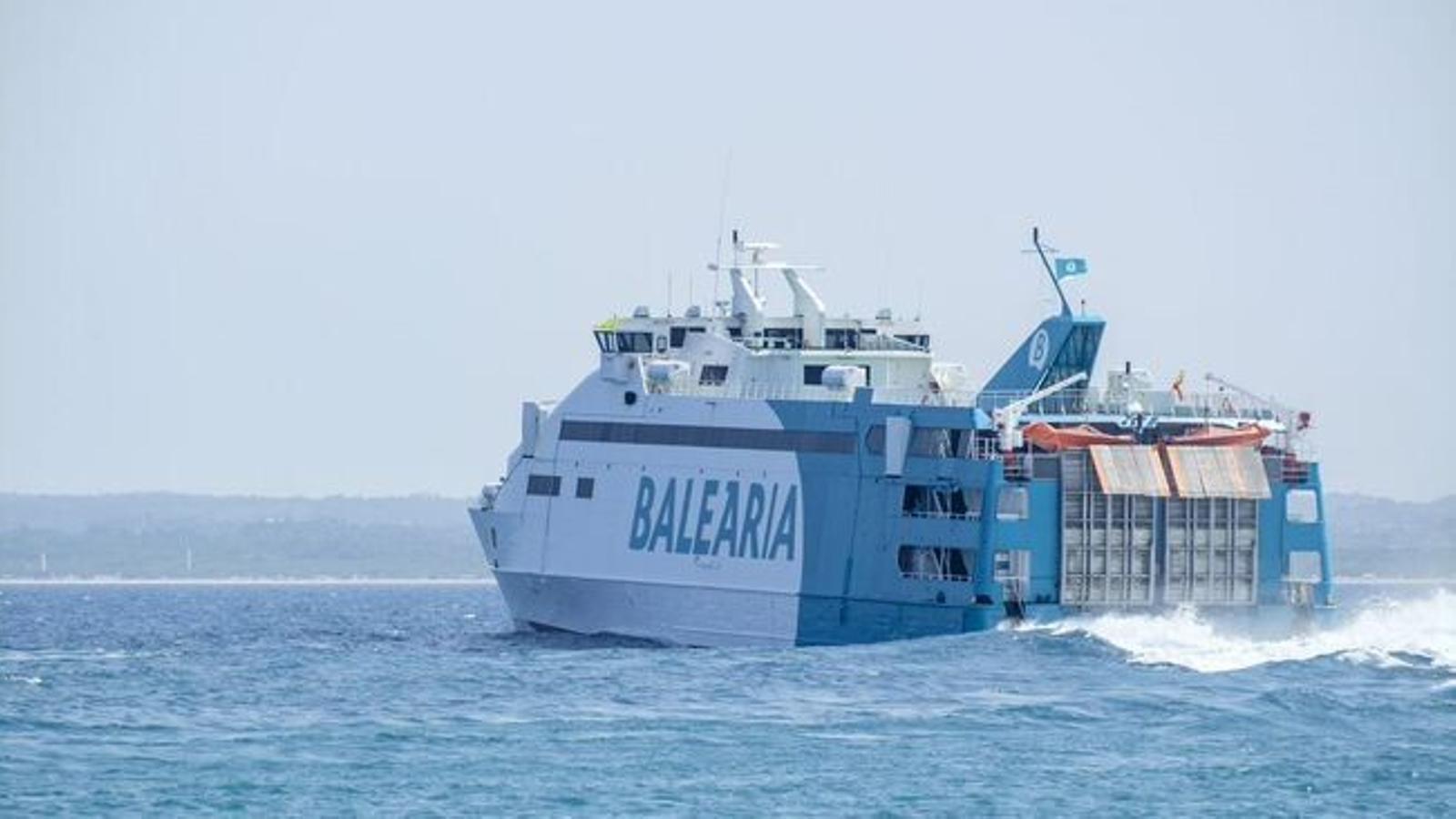 El Govern pagarà 1,3 milions d'euros a les navilieres pel descompte de resident del primer trimestre