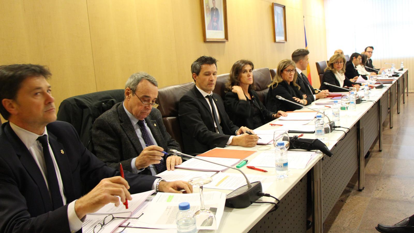 Sessió de consell de comú d'Andorra la Vella. / M. T. (ANA)