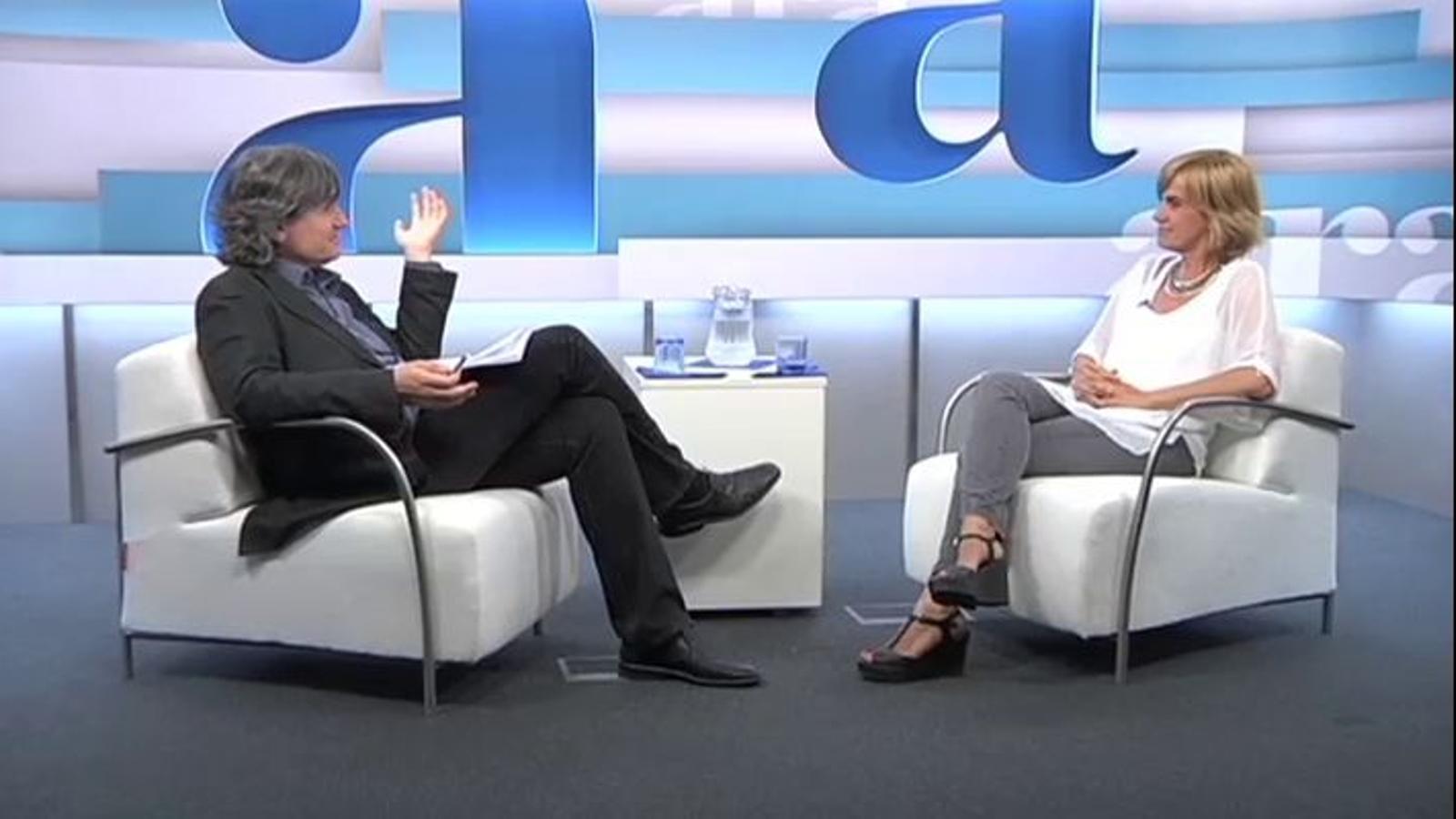 Entrevista completa a Gemma Nierga
