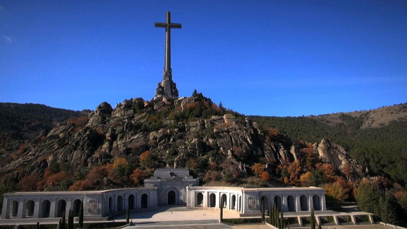 El Valle de los Caídos, monument per excel·lència del franquisme