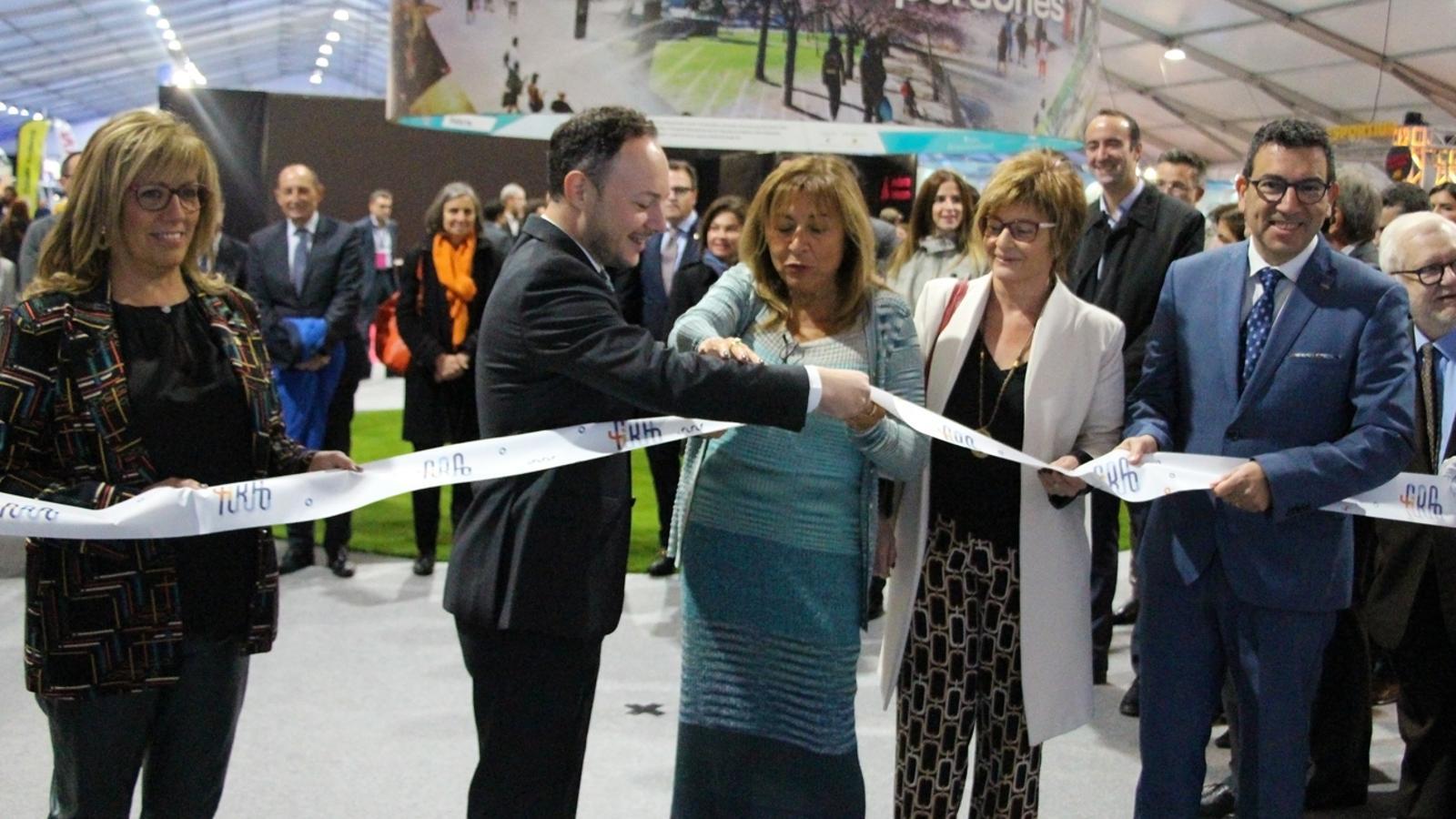 Inauguració de la 41a edició de la Fira d'Andorra la Vella. / T. N. (ANA)