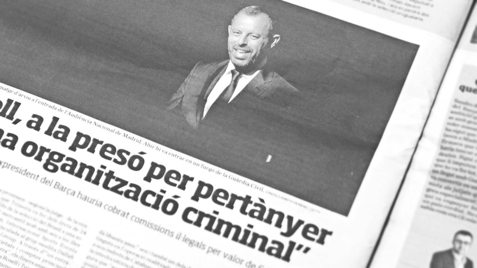 "L'anàlisi d'Antoni Bassas: ""'Vaya usted al Congreso', Rosell i Laporta"""