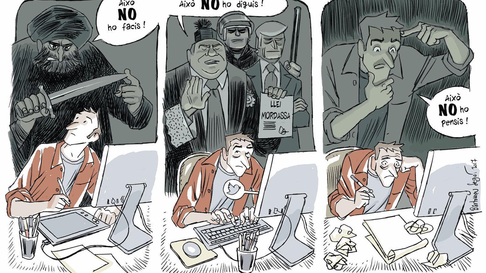 Protecció contra el discurs de l'odi o atac a la llibertat d'expressió?