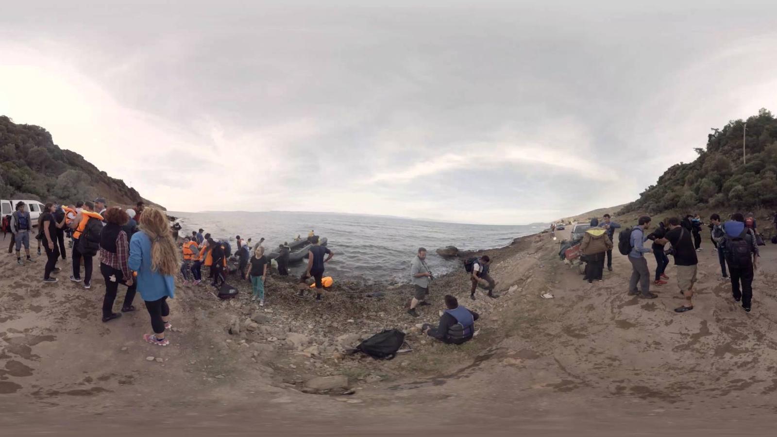 Vídeo de MSF sobre la ruta dels refugiats en 3D