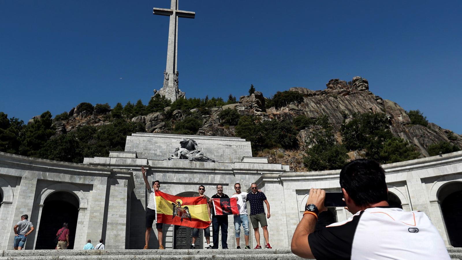El Congrés dona via lliure a l'exhumació de Franco del Valle de los Caídos