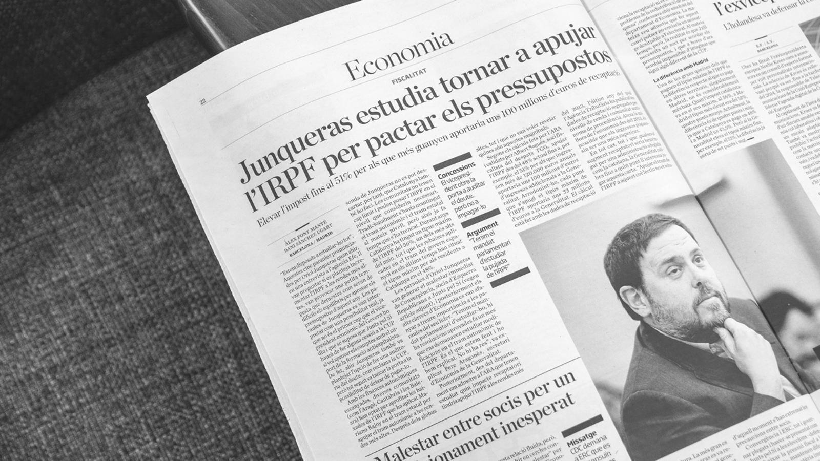L'anàlisi d'Antoni Bassas: 'El senyal de l'IRPF al 51%'