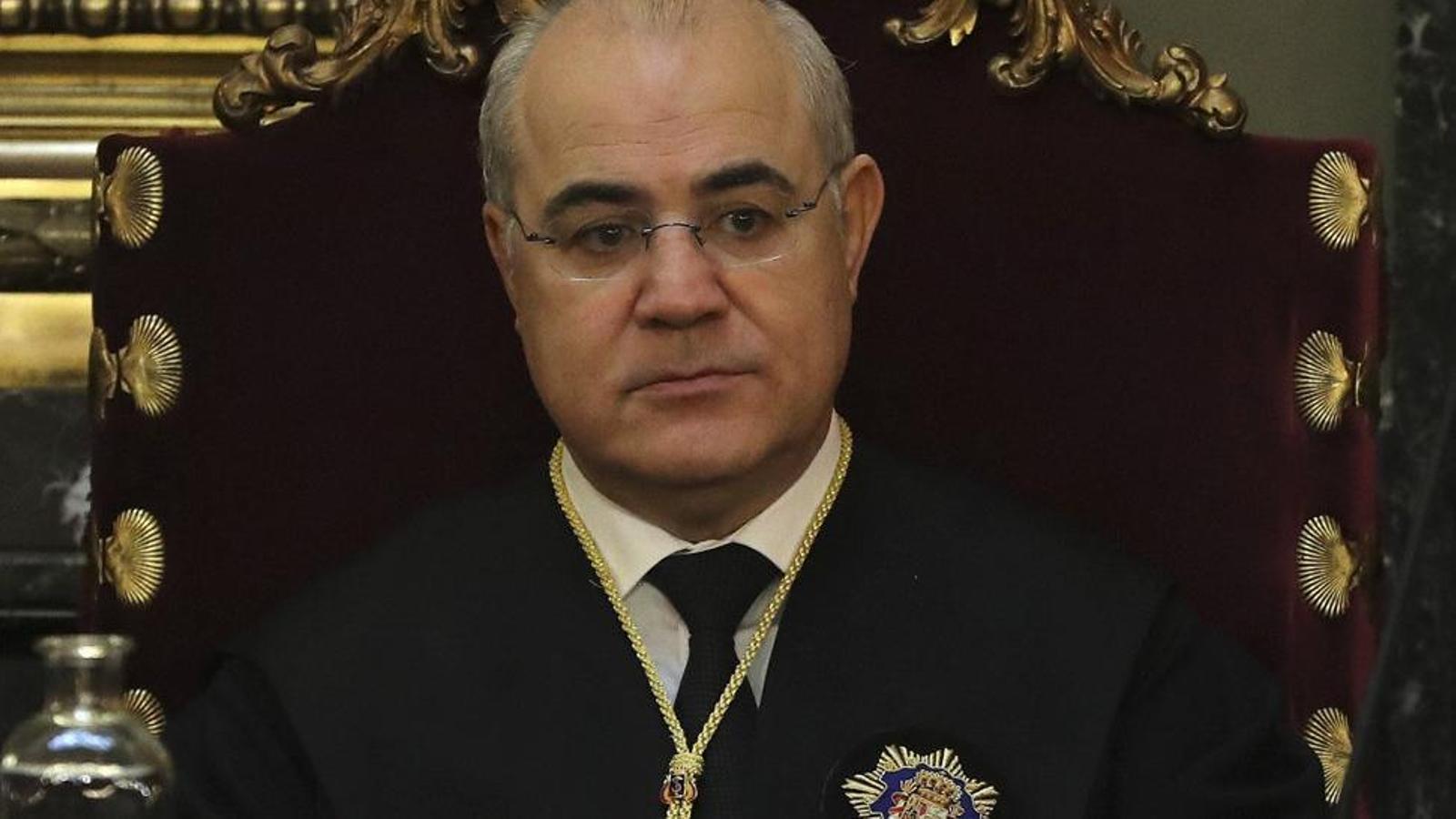 El jutge del Tribunal Suprem que va instruir la causa contra el Procés, Pablo Llarena.