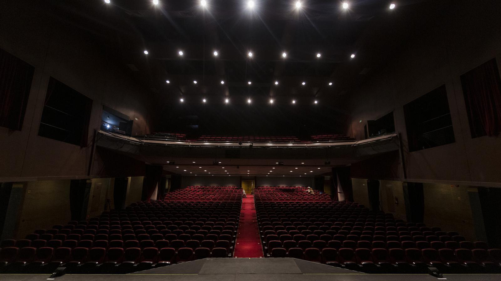El Teatre Victòria en una imatge d'arxiu