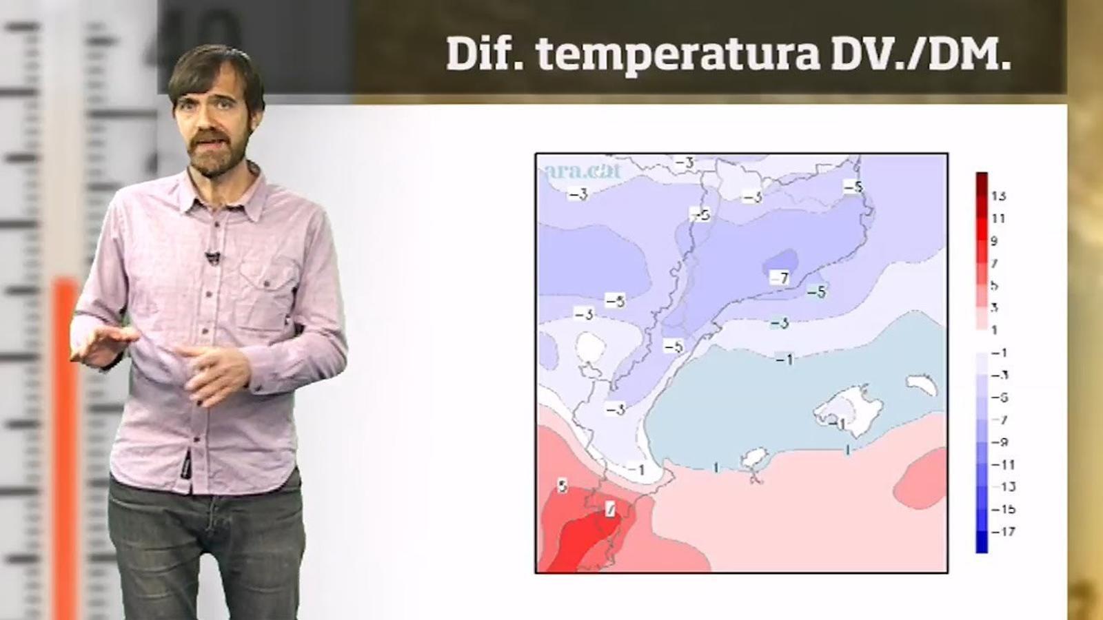 Méteo especial: el fred siberià i una borrasca provocaran una nevada general la setmana que ve