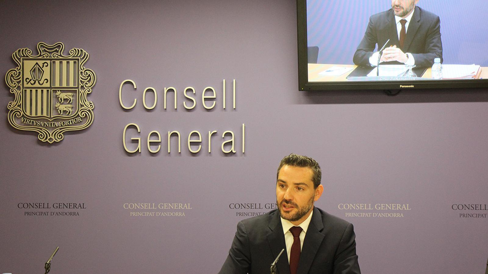 L'exconseller general de Demòcrates, Marc Ballestà. / ARXIU ANA