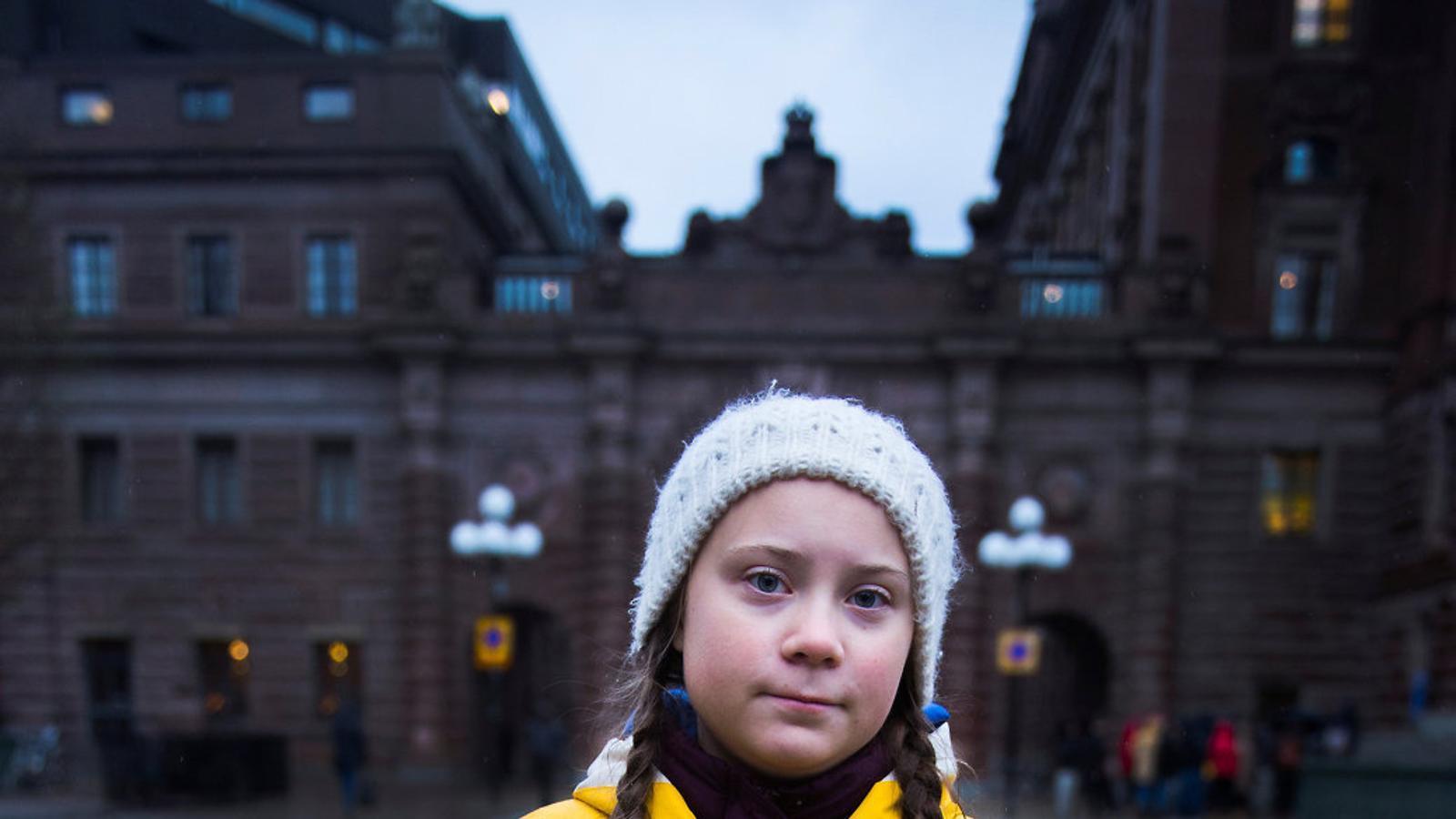 Greta Thunberg: la nena sueca que hi  veu clar i que té pànic al canvi climàtic