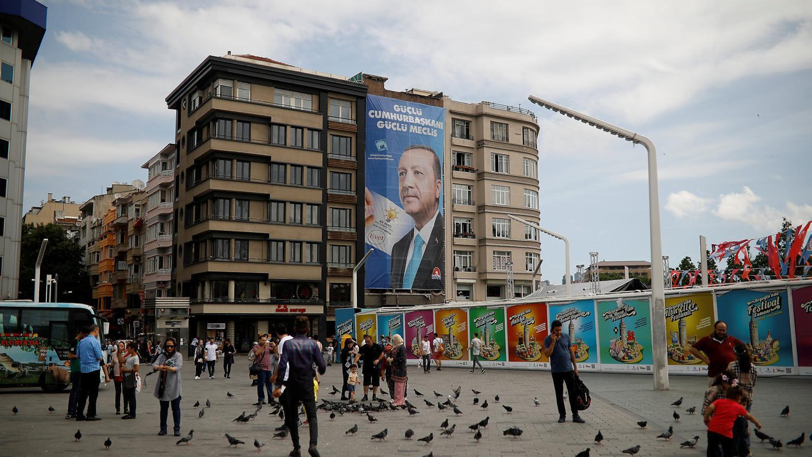 Quinze anys d'Erdogan a Turquia