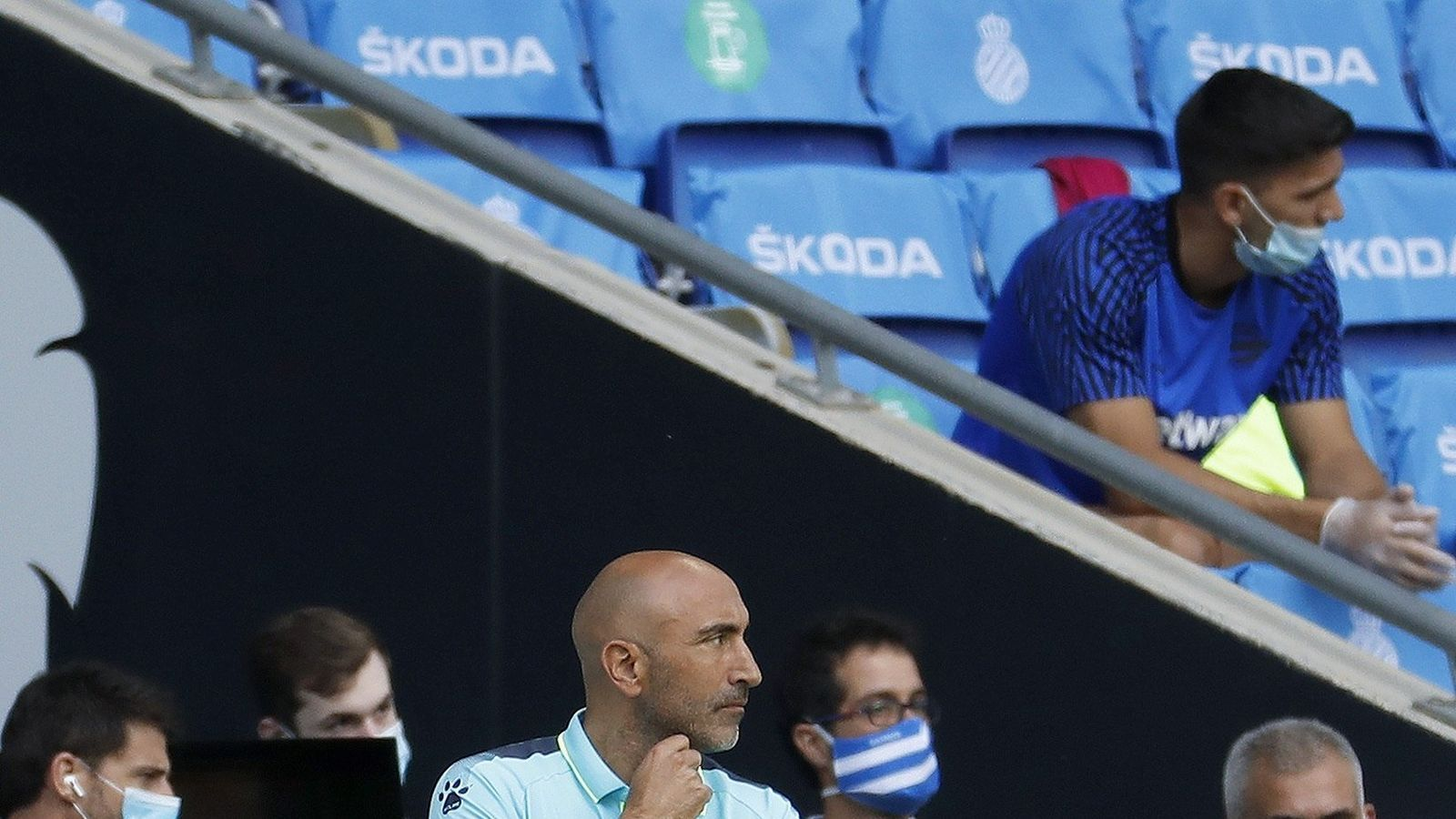 """Abelardo Fernández: """"Era important guanyar el primer partit"""""""