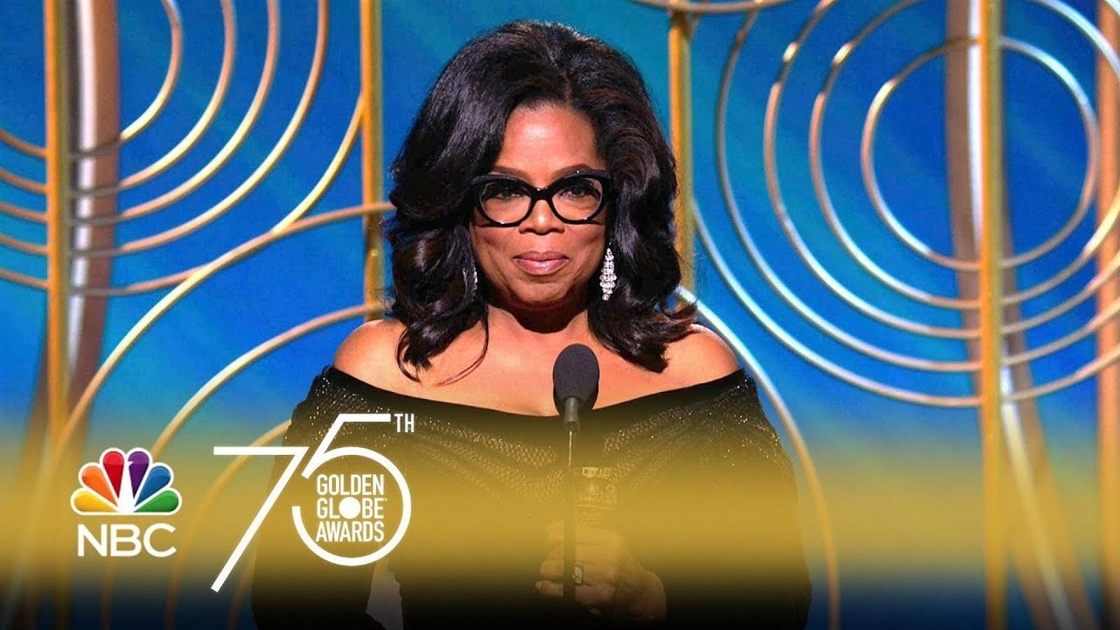 "Oprah Winfrey: ""El moment ha arribat"""