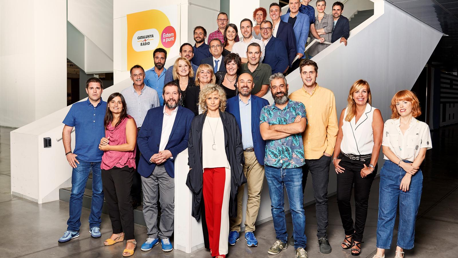 Catalunya Ràdio suma Torquemada i Escapa a una graella continuista