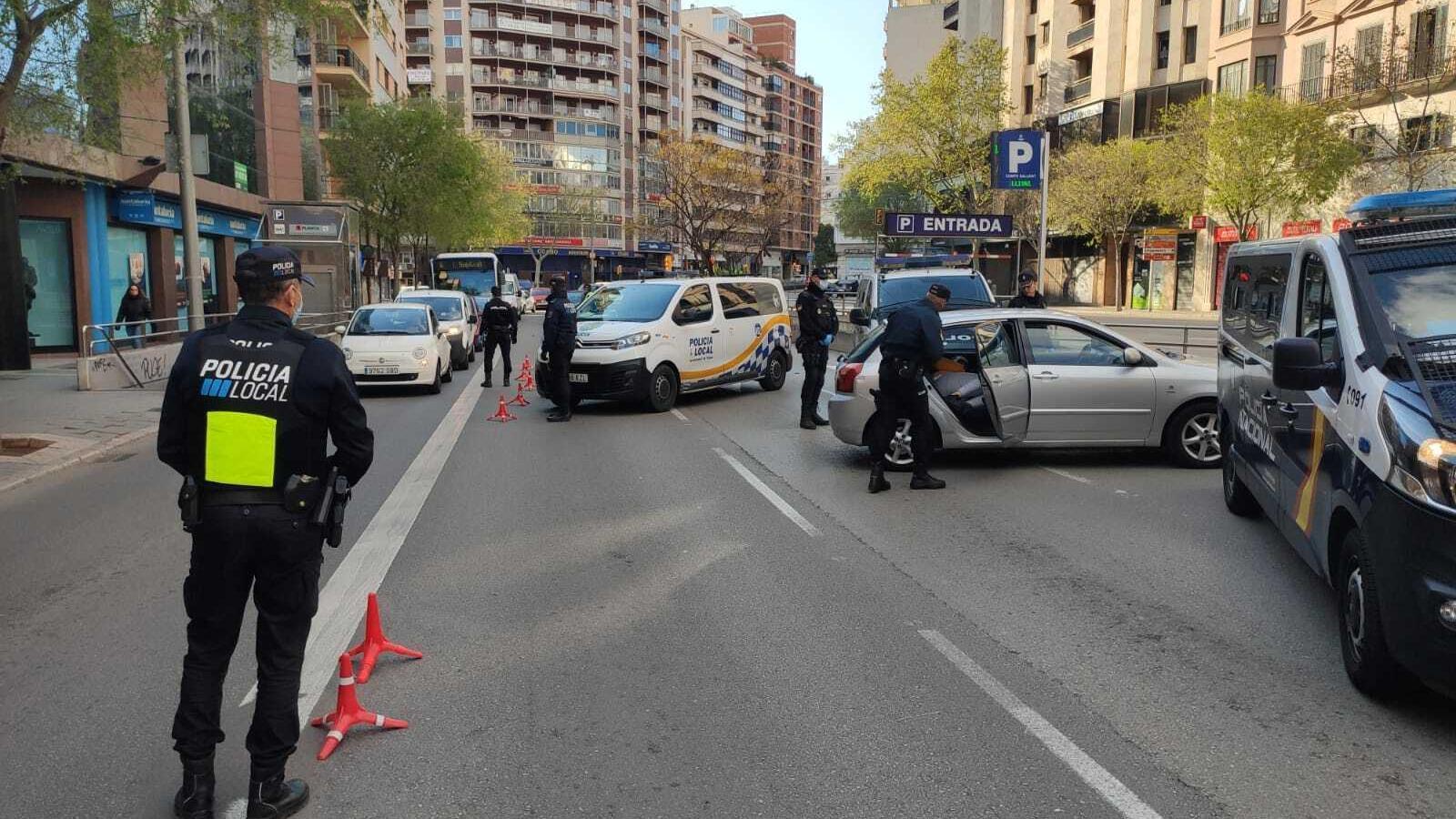 Control de trànsit a Palma