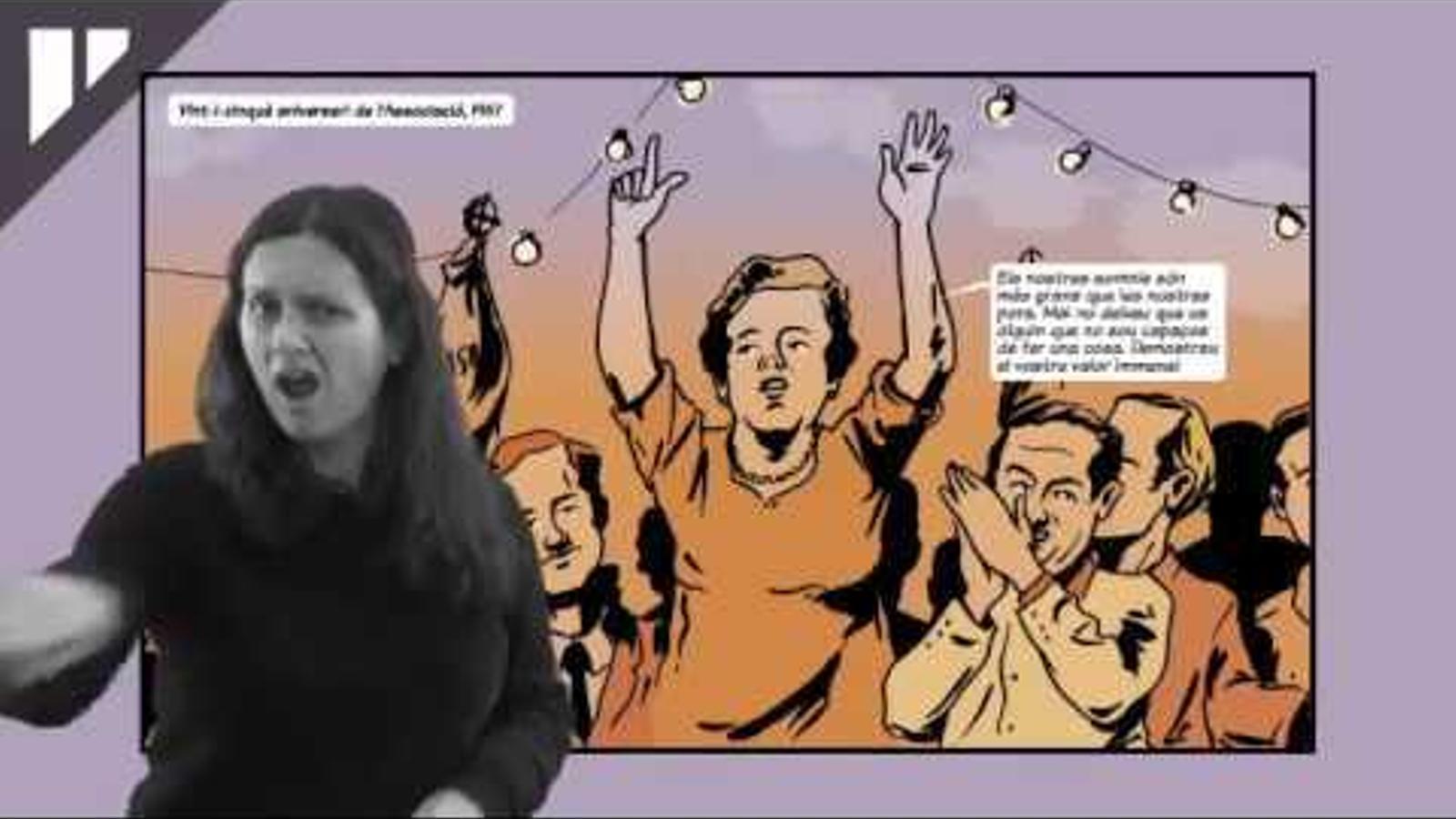 Tradueixen el primer còmic al llenguatge de signes