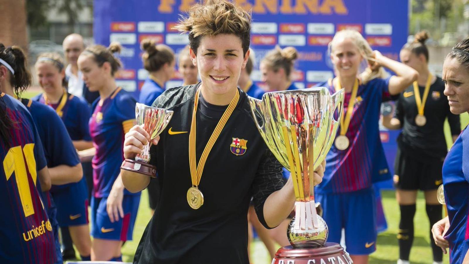 Laura Ràfols a la Copa Catalunya