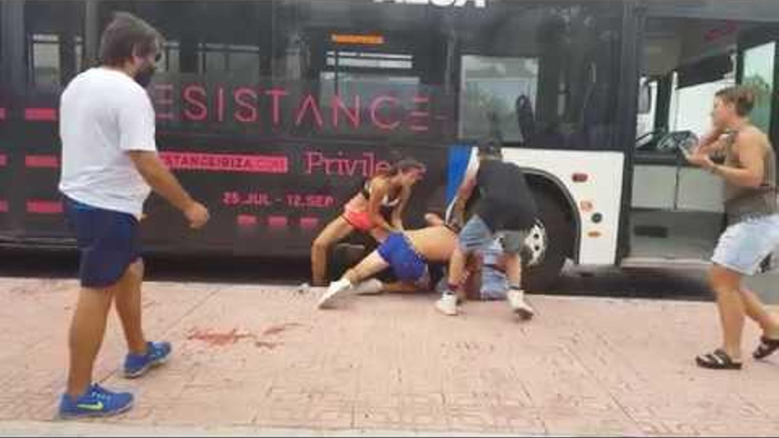 El vídeo de l'agressió.