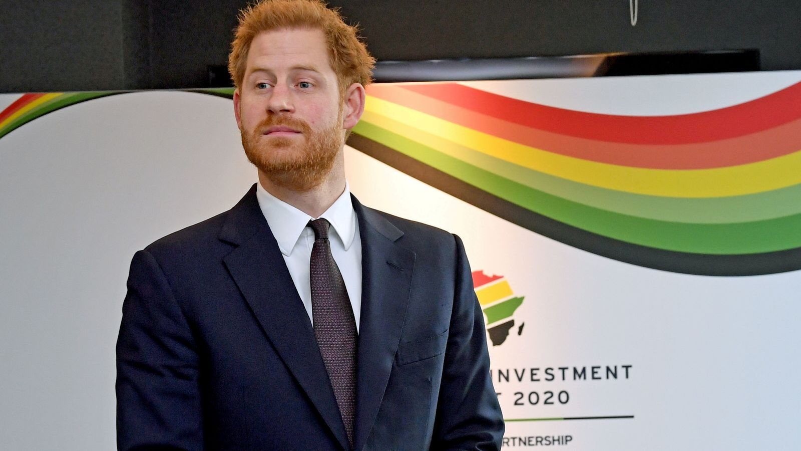 El príncep Enric en un dels últims actes públics que ha fet al Regne Unit