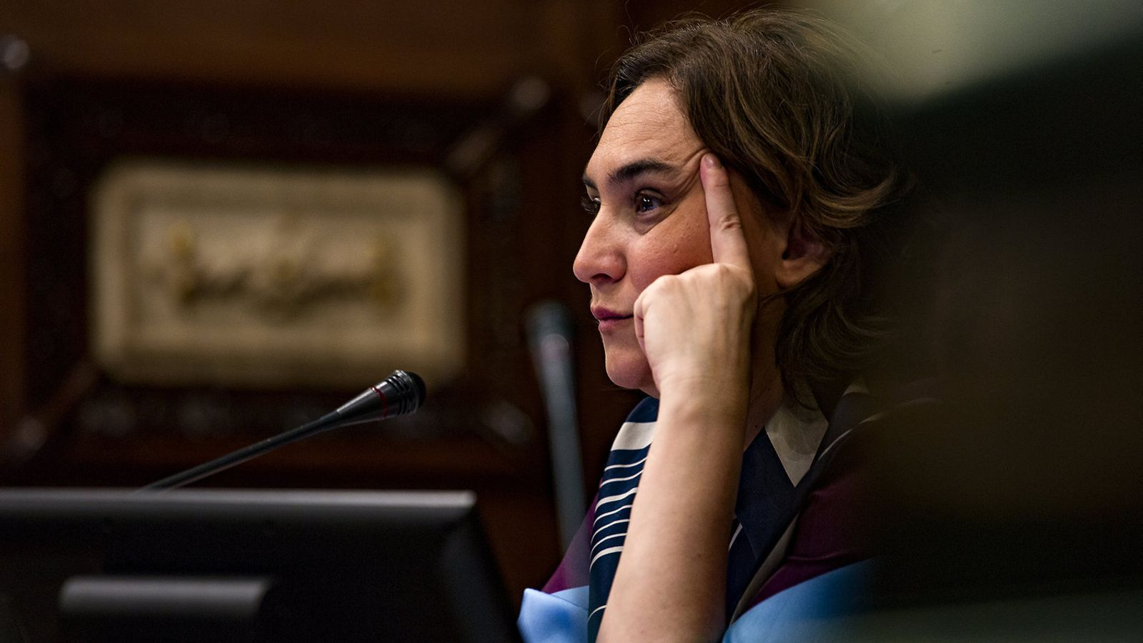 L'alcaldessa de Barcelona i coordinadora dels comuns, Ada Colau, en una foto d'arxiu.