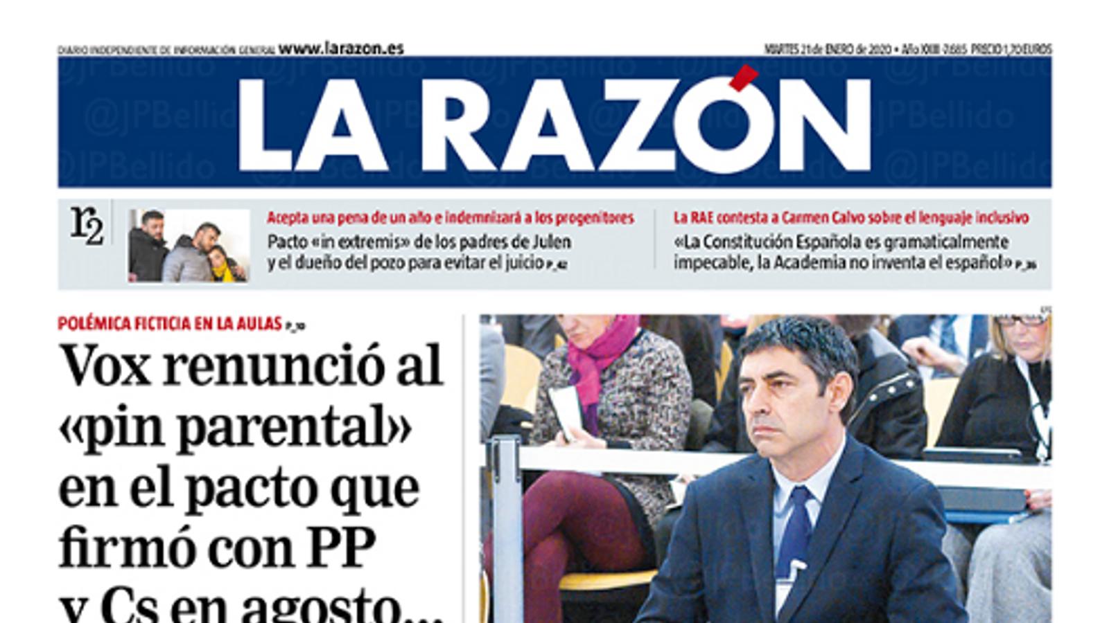 21/01/2020 La Razón