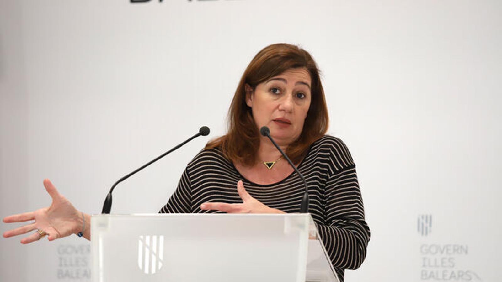 La presidenta del Govern, Francina Armengol, en una imatge d'arxiu.