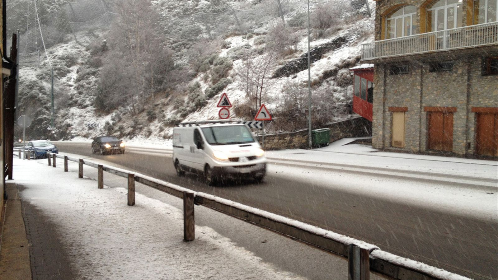 Una nevada a la zona de Canillo. / ARXIU ANA