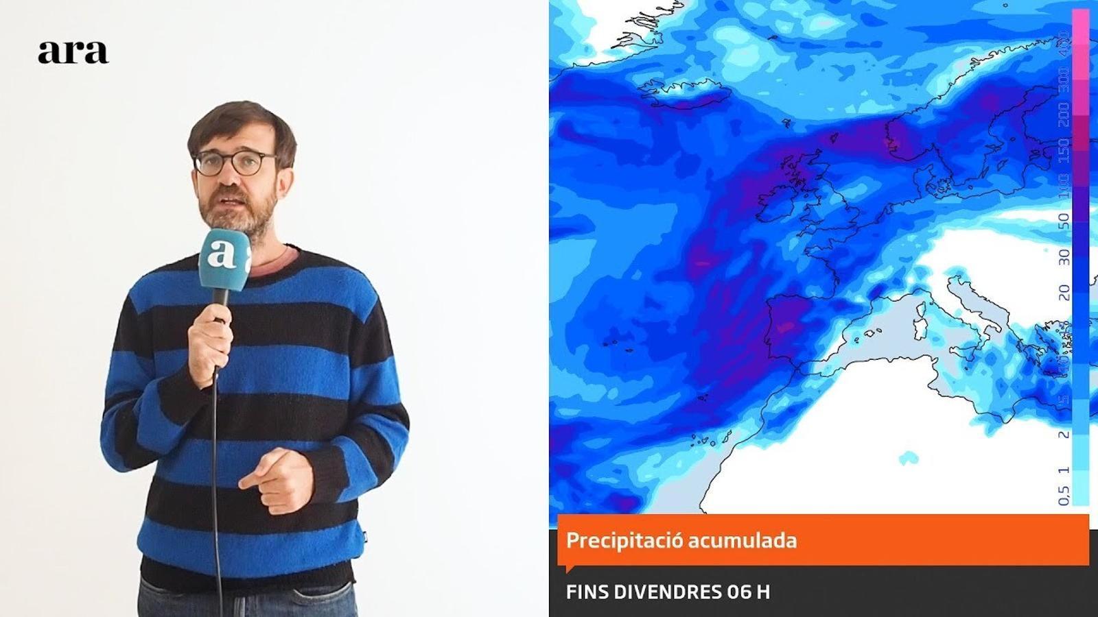 La méteo: el fred marxarà sobtadament i per pocs dies