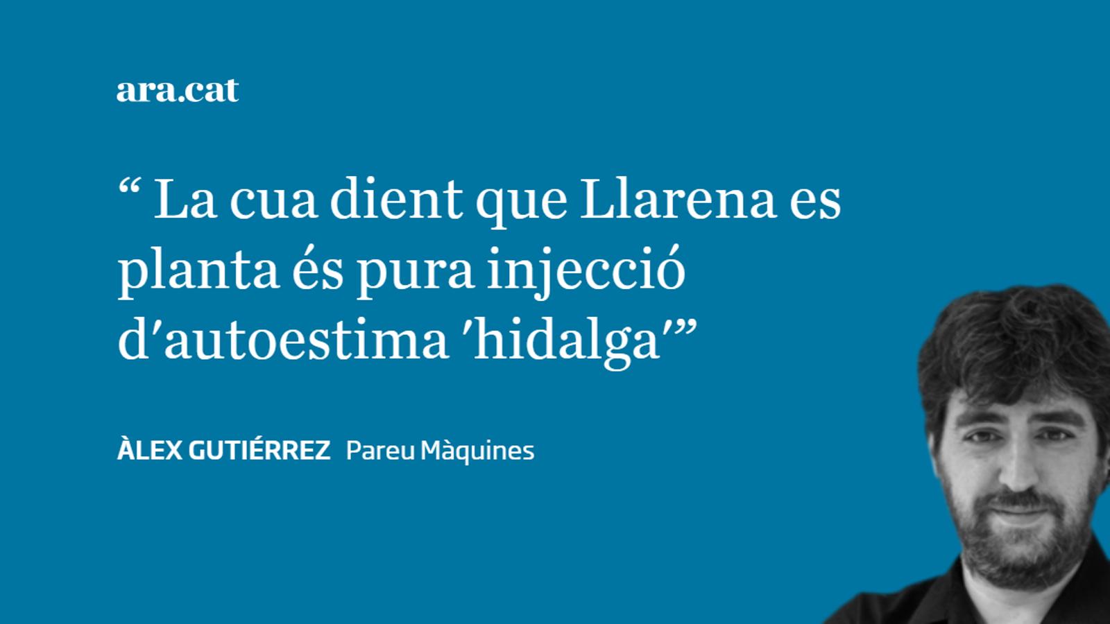 'La Razón' admet sense voler que són presos polítics