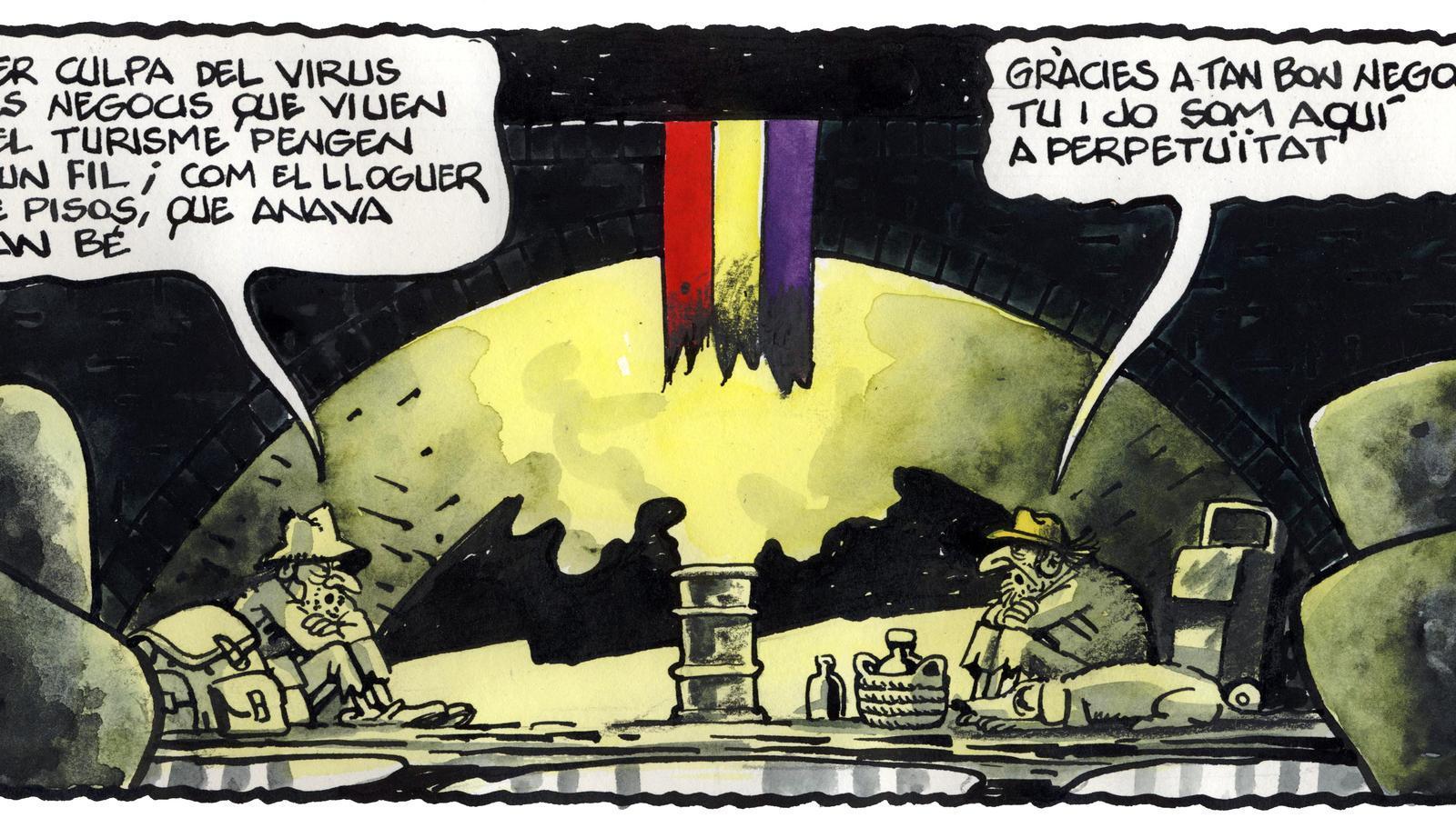 'A la contra', per Ferreres 03/08/2020