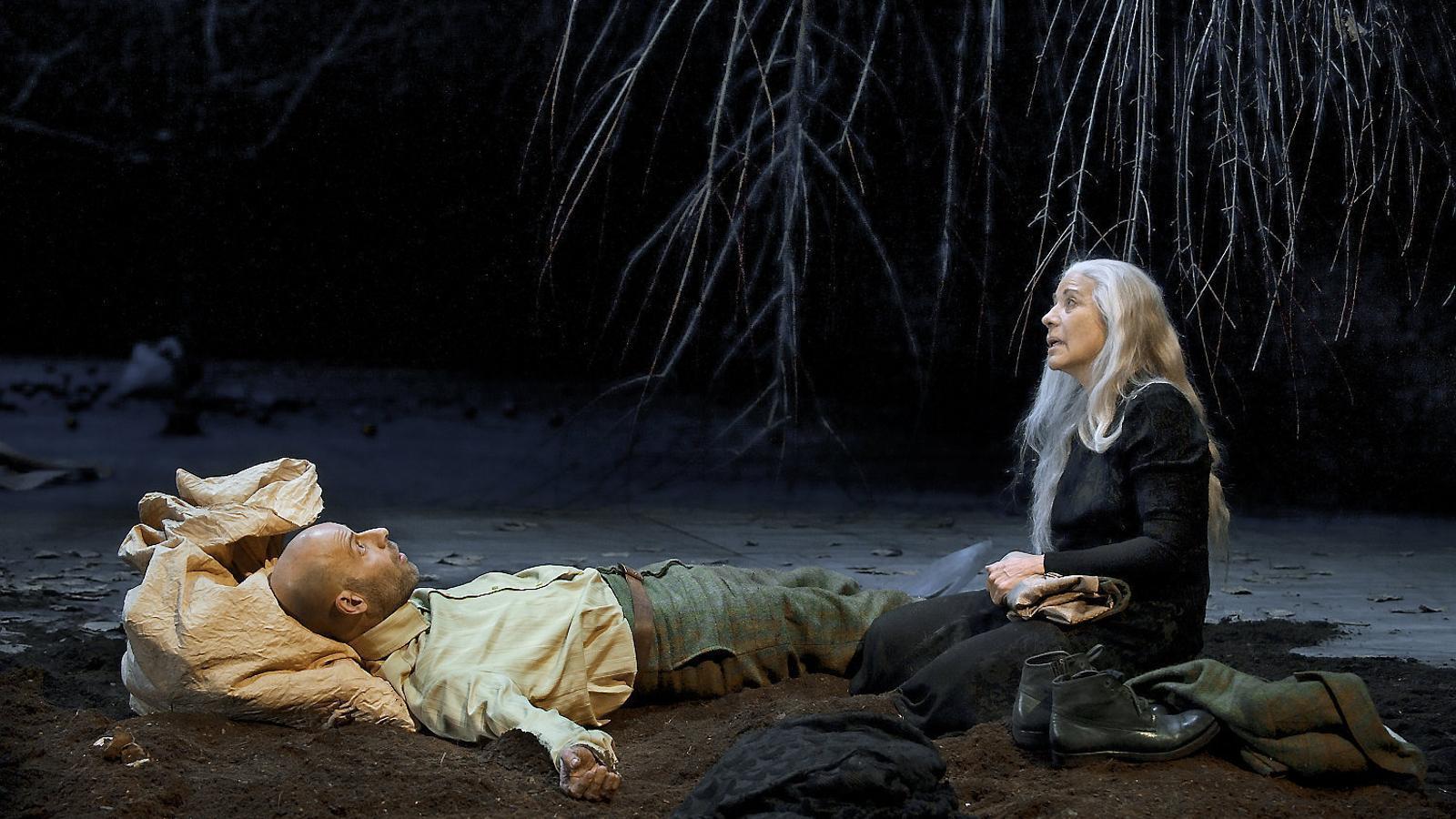 Eduard Farelo i Emma Vilarasau a 'Si mireu el vent d'on ve'