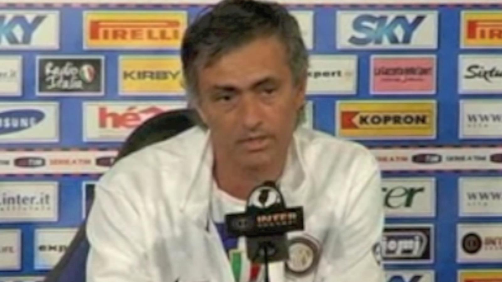 Mourinho sempre troba l'excusa del calendari i ho critica a Espanya, a Itàlia i a Anglaterra