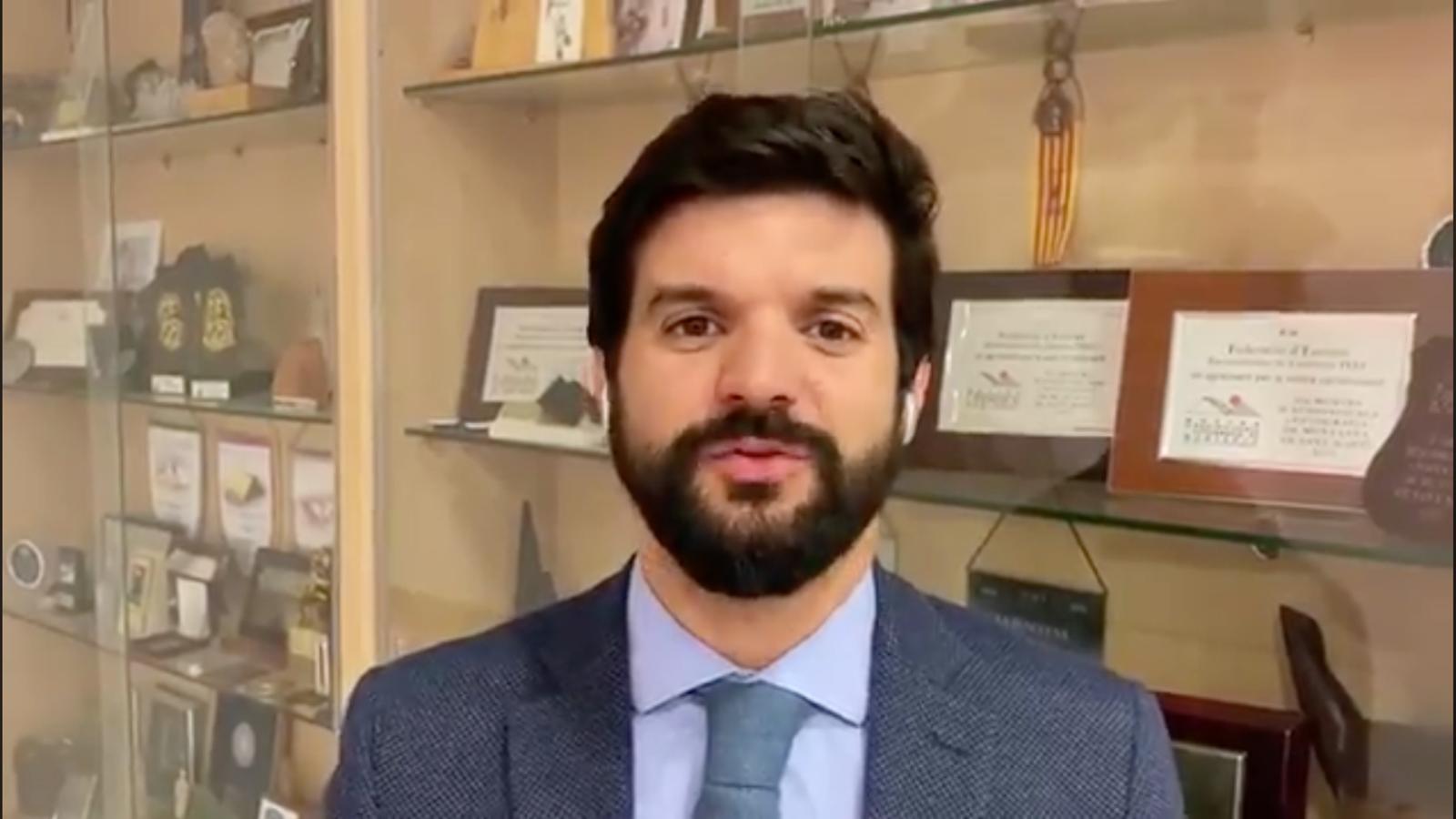 """Gerard Esteva: """"Presentarem una demana al Tribunal Superior de Justícia"""""""