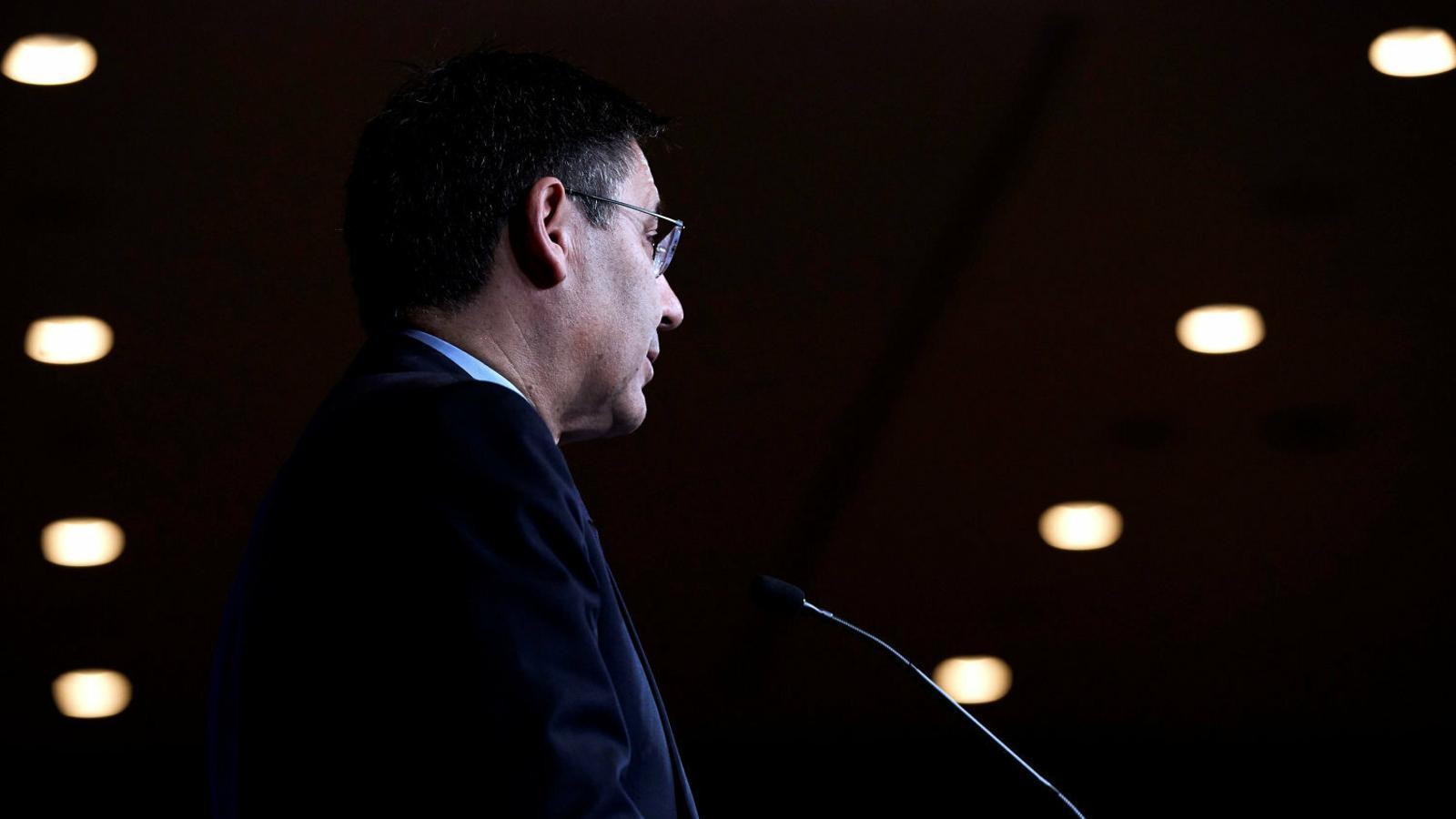 El president del Barça, Josep Maria Bartomeu.