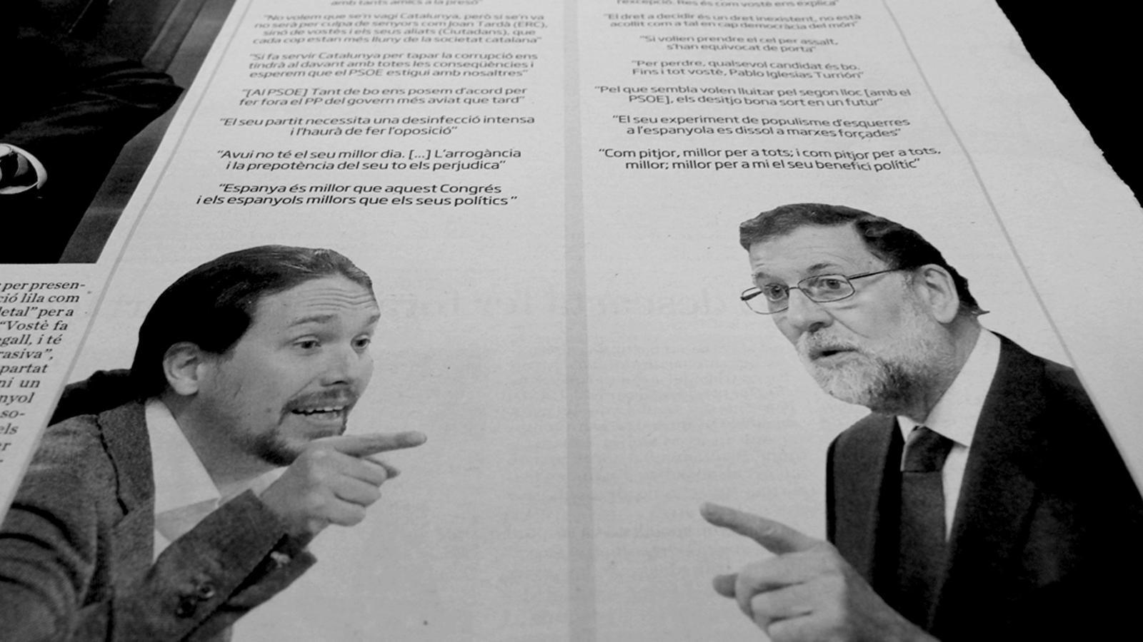 "L'anàlisi d'Antoni Bassas: 'Rajoy: ""Pan para hoy y hambre para mañana""'"