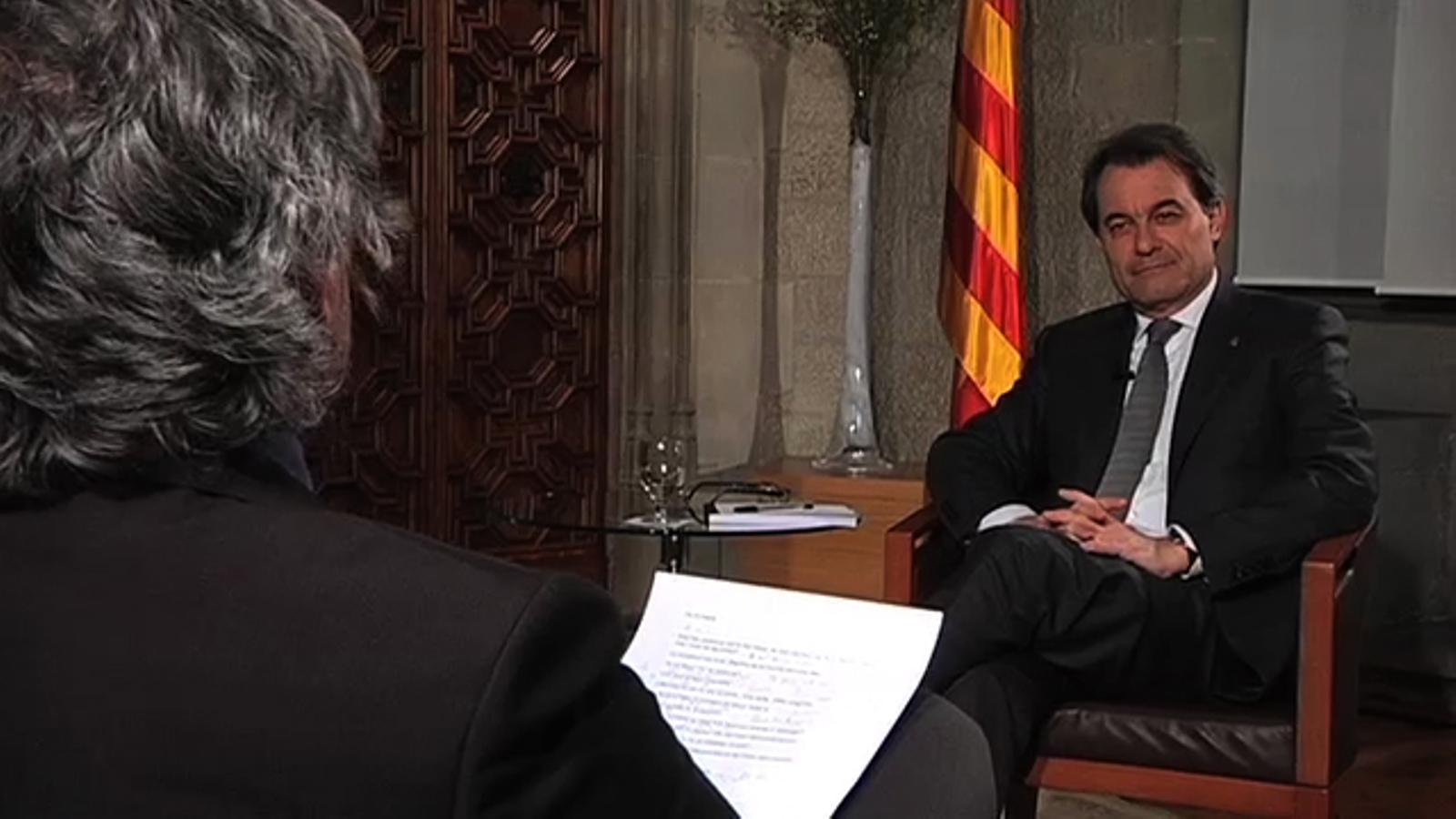Qüestionari de Carles Capdevila a Artur Mas