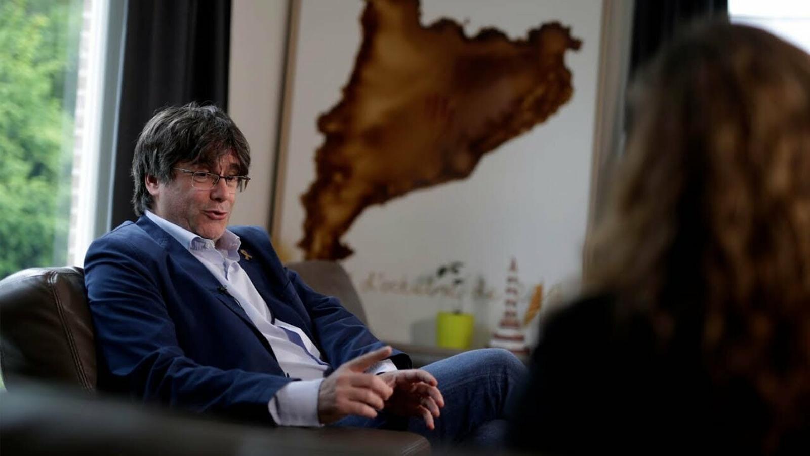 """Carles Puigdemont: """"La pregunta l'hem de fer a l'estat espanyol. Pensen respectar les regles del joc?"""""""