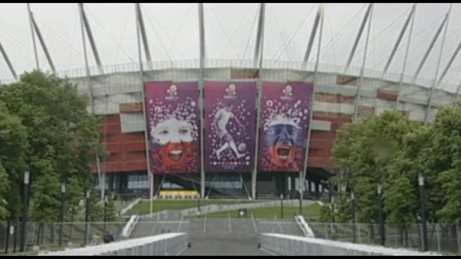 Tot a punt a Polònia per l'inici de l'Eurocopa