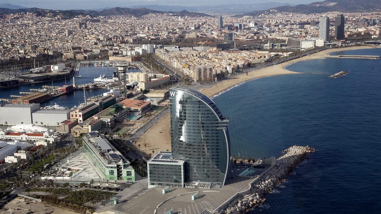 El Procés frena l'escalada de preus dels hotels de Barcelona