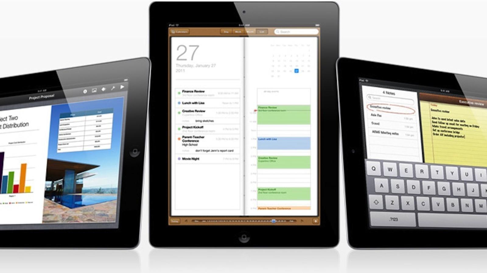 El 2010 arriba l'iPad, la tauleta d'Apple que barreja l'essència del mòbil i de l'ordinador