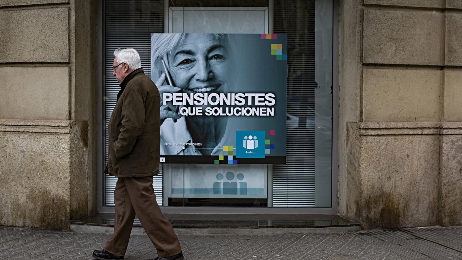 """La UE impulsa plans de pensions privats paneuropeus per """"alleugerir"""" els sistemes públics"""