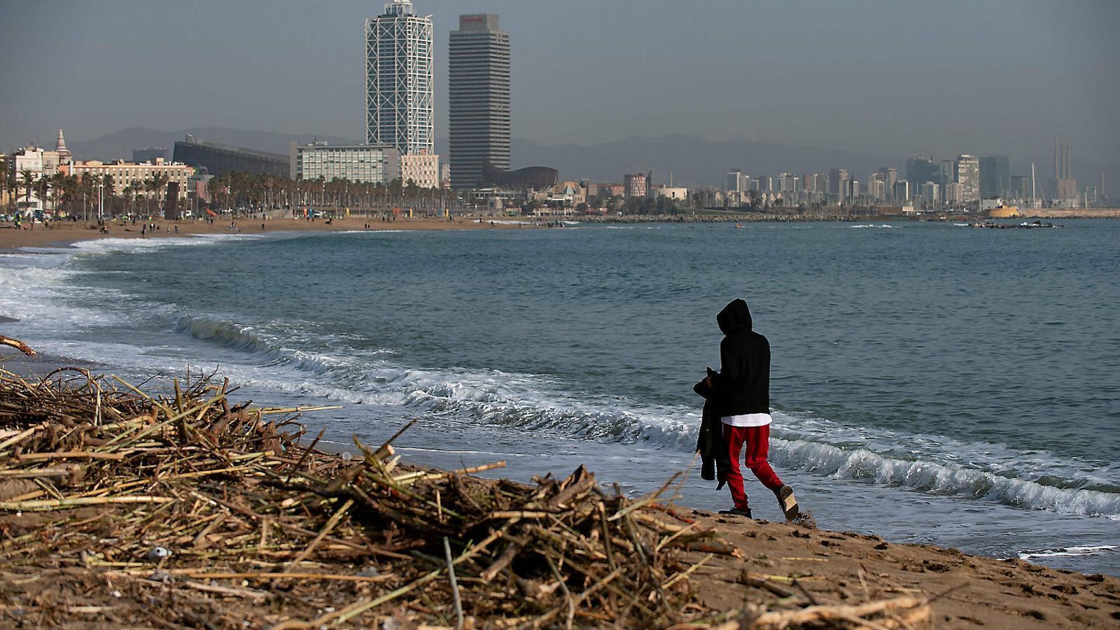 """'Gloria', el preludi """"devastador""""  de com serà la costa en 80 anys"""