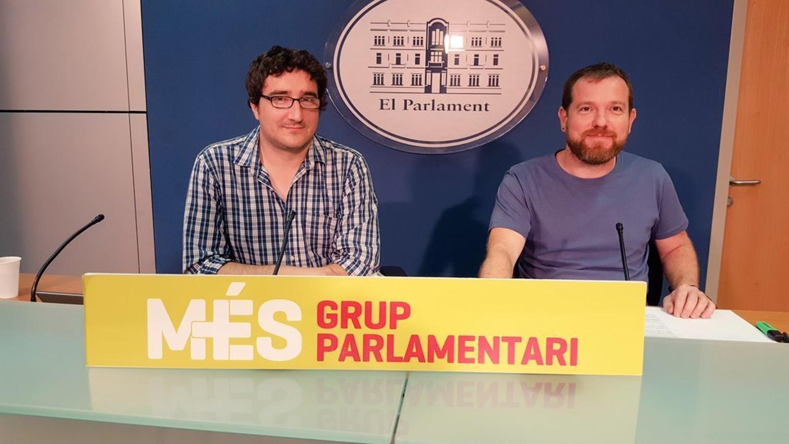 Biel Barceló, David Abril i Antoni Reus desapareixen de les llistes de Més